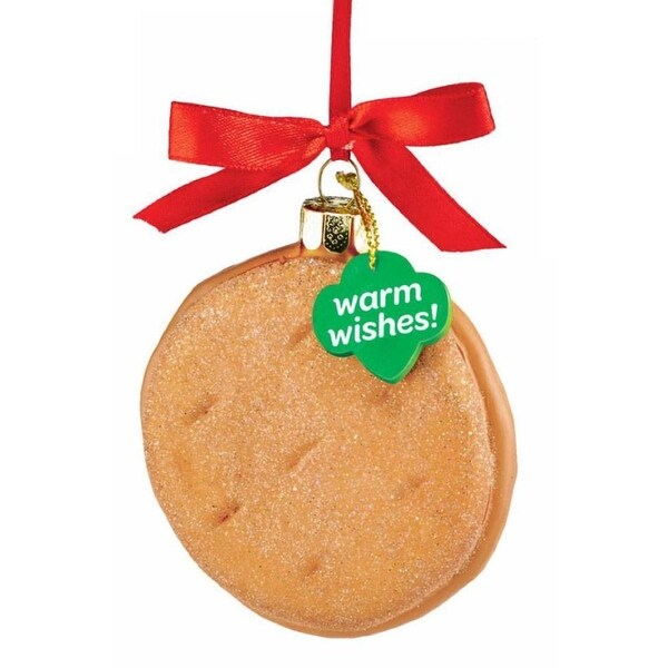 Department 56 Girl Scouts Peanut Butter Cookie Christmas Ornament #4053398