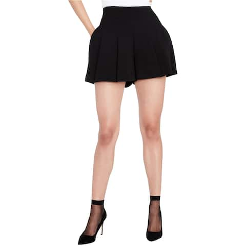 Rachel Roy Womens Pleated Skort Skirt