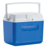 Rubbermaid 10 Quart Pacific Blue Victory Personal Cooler
