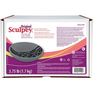 Gray - Sculpey Original Polymer Clay 3.75Lb