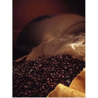 """""""Coffee beans"""" Poster Print"""