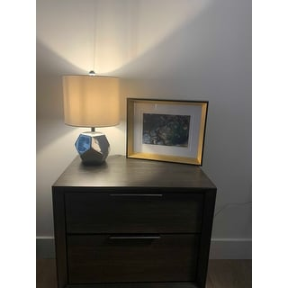 Safavieh Lighting 18 Inch Hanton Led Table Lamp 10 X10 X17 5 On Sale Overstock 22256162