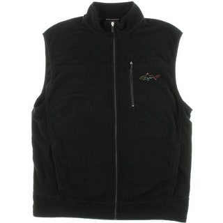 Greg Norman Mens Fleece Performance Outerwear Vest