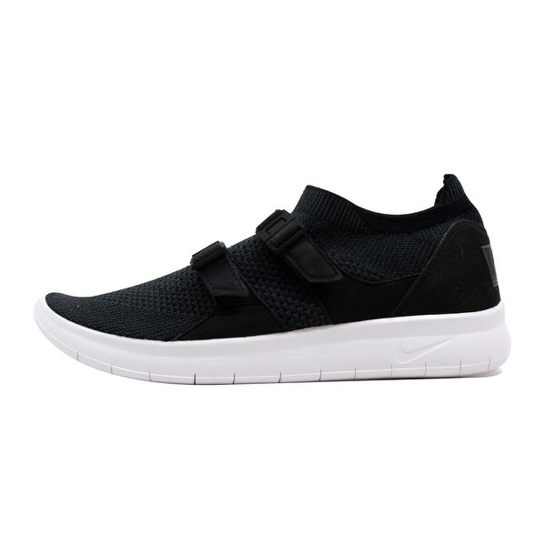 250889ea69e0f Shop Nike Men s Air Sockracer Flyknit Black Anthracite-Black-White ...