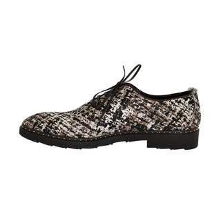 Dolce & Gabbana Dolce & Gabbana Multicolored Pony Hair Derby Shoes - eu44-us11