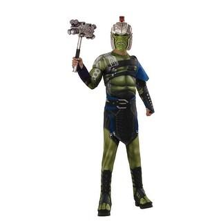 Boys Deluxe War Hulk Muscle Chest Avengers Costume