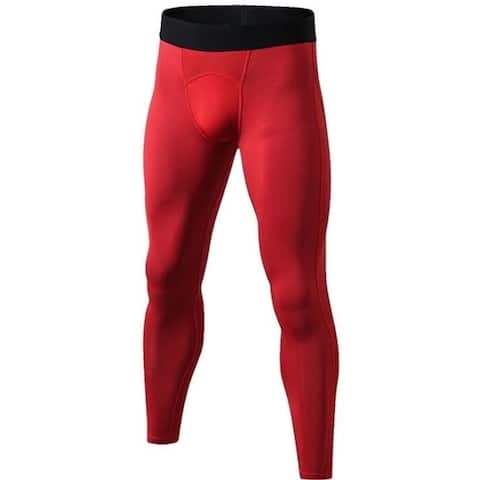 Men's Compression Pants - Workout Leggings For Gym, Basketball, Cycling