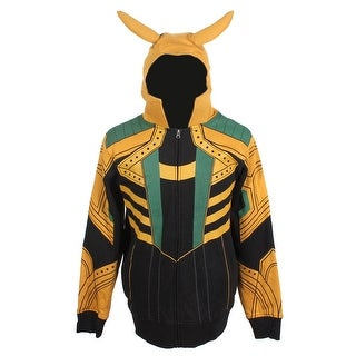 Marvel Comics Men's I Am Loki Costume Hoodie