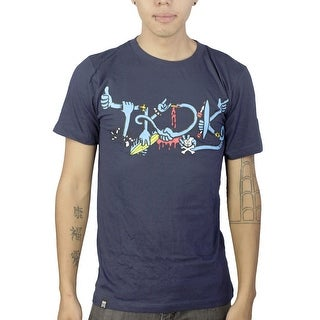 Tokidoki Arms Logo Men's Blue T-shirt