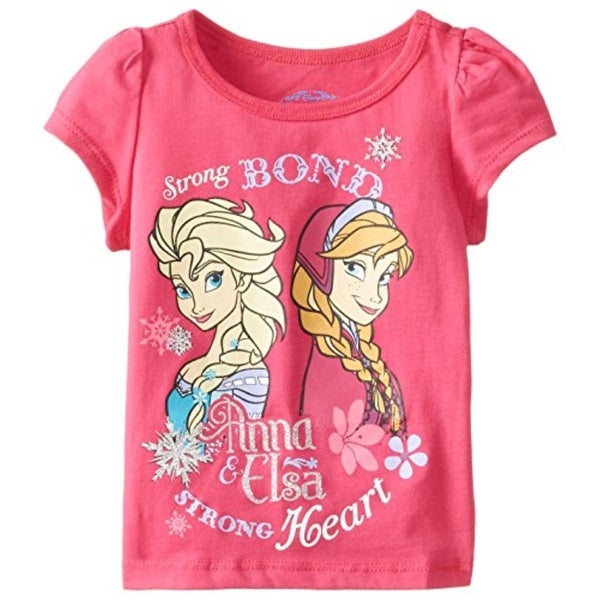 Disney Casual Top Toddler Elsa & Anna