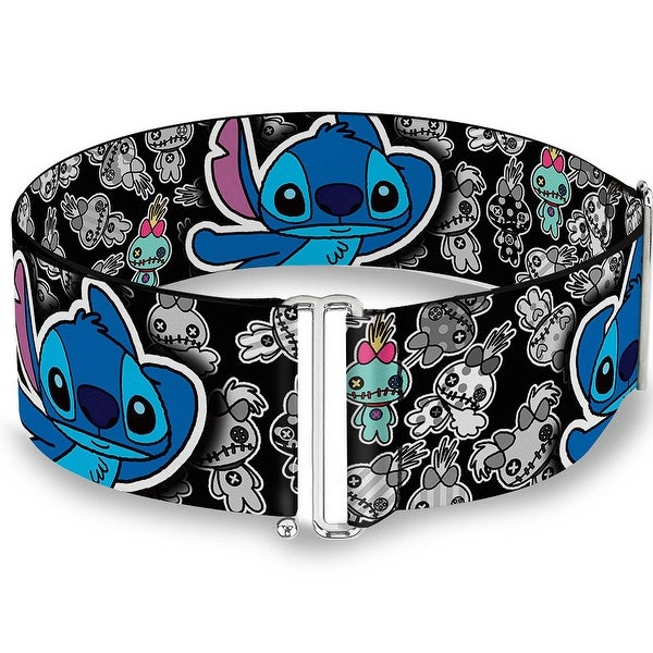Stitch Poses Mini Scrump Scattered Cinch Waist Belt ONE SIZE