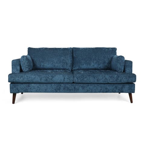 Reilly Contemporary 3-Seater Fabric Sofa by Christopher Knight Home