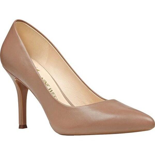 Shop Nine West Women's Fifth Pump Sale Natural Leather - On Sale Pump - - 22863886 b00e75