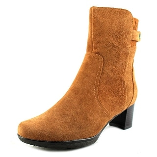 Blondo Ashley   Round Toe Suede  Ankle Boot