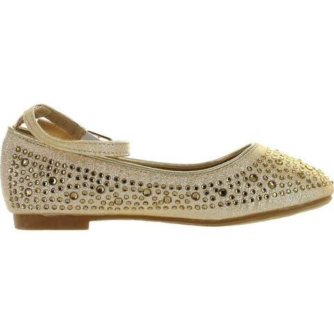 Adorababy Girls Ba0032 Fashion Dressy Flats Shoes