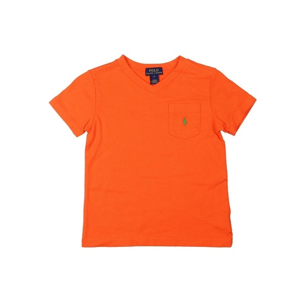 ff191e96b2ef Shop Polo Ralph Lauren Boys T-Shirt Basic - Free Shipping On Orders Over   45 - Overstock - 23553270