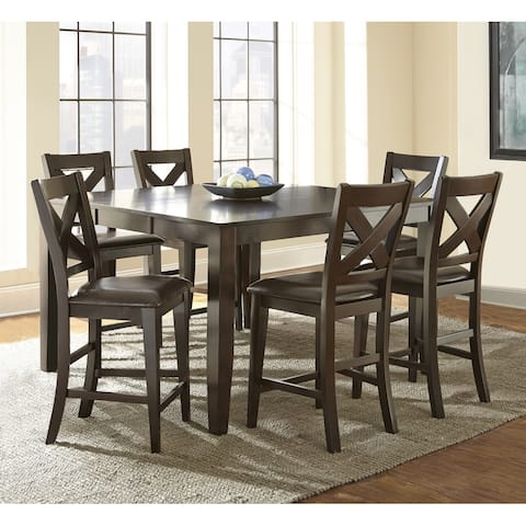Copley Counter Height Dining Set with Self Storing Leaf by Greyson Living