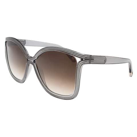 8d0641e91fd6 Chloe CE737 S 035 Grey Square Sunglasses - 58-15-135