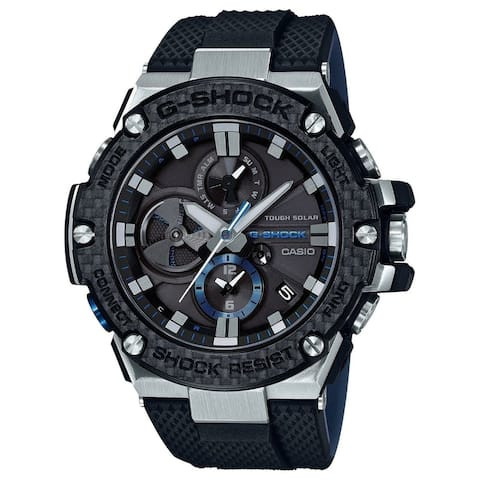 Casio Men's GSTB100XA-1A 'G-Shock' Black Rubber Watch
