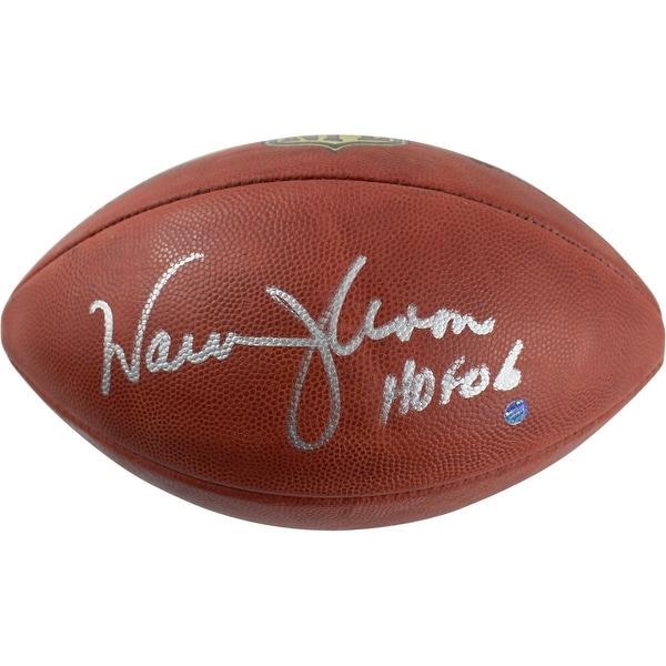 5f867b923 Shop Warren Moon Wilson Official NFL Football w HOF 06 Insc - Free ...