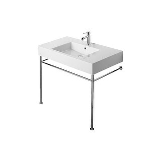 Duravit 30711000 Vero Metal Console with Adjustable Height - Console Only - CHROME