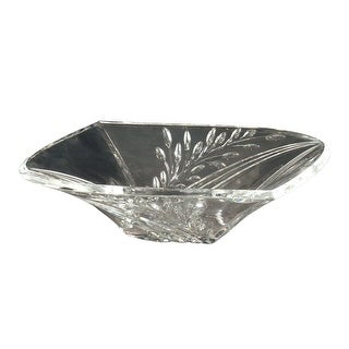 Dale Tiffany GA80035 Clear Crystal Leaf Bowl - n/a