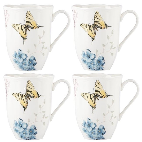 Shop Lenox 869578 4 37 In Butterfly Meadow Hydrangea Dw