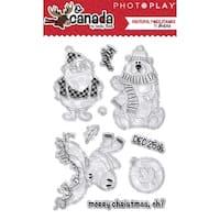 Photoplay Photopolymer Stamp-O Canada Christmas