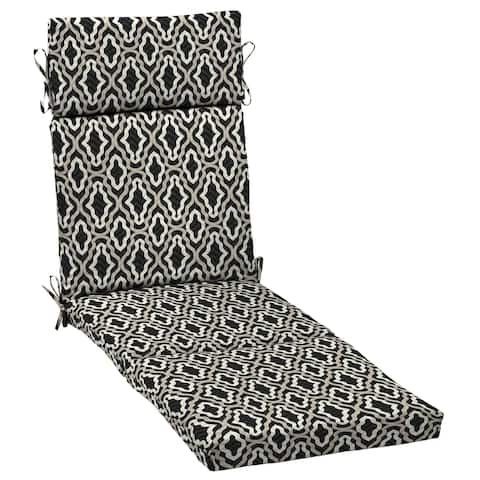 Arden Selections DriWeave Amalfi Trellis Outdoor Chaise Cushion - 72 in L x 21 in W x 3 in H