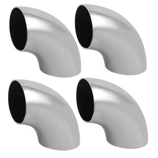 4pcs 304 Stainless Steel Hand Rail Elbow Fittings 38mm Tube