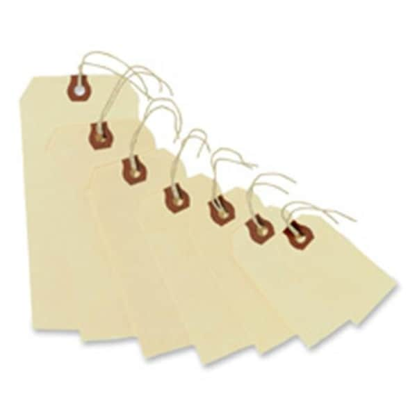 Shipping Tags, No 8 Strung, 6.25 in. x 3.13 in.,