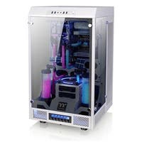 Thermaltake Tower 900 Snow Edition Tempered Glass Fully Modular E-Atx Vertical Super Tower Computer Chassis Ca-1H1-00F6w