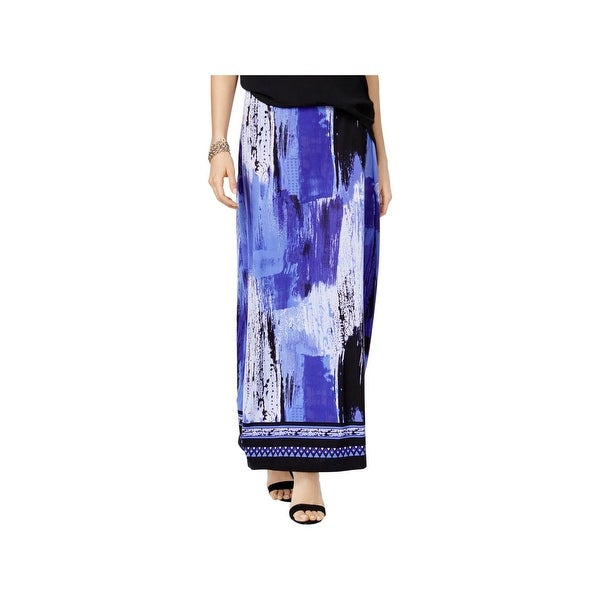 Shop Eci New York Womens Maxi Skirt Printed Long S Free Shipping
