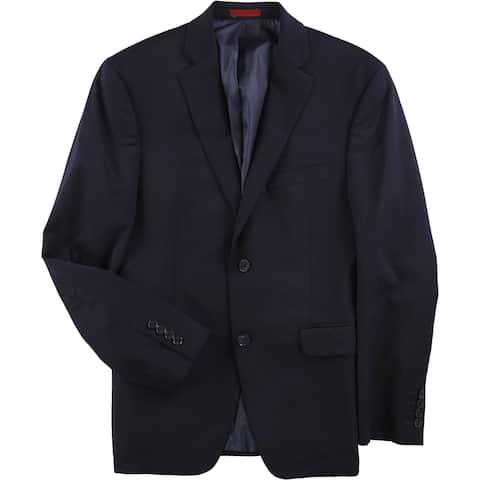 Alfani Mens Traveler Two Button Blazer Jacket - 38 Short
