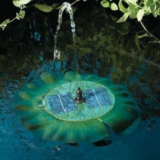 Smart Solar 24402R01 Lily Floating Fountain