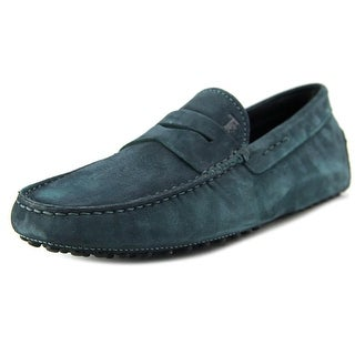 Tod's Mocassino Gommini Nuovo Women Round Toe Suede Loafer