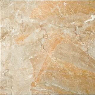 """Emser Tile M01BREC1212 Marble - 12"""" x 12"""" Square Multi-Surface Tile - Polished M"""
