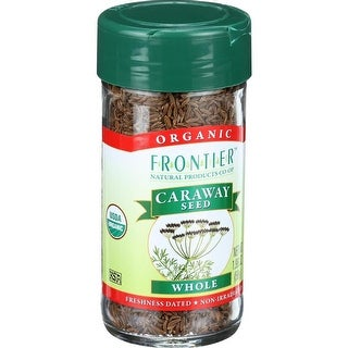 Frontier Herb - Organic Whole Caraway Seed ( 2 - 1.96 OZ)
