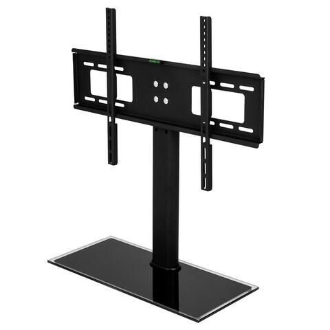 "LEADZM 32-55"" Wall Mount TV Mount Bracket TSD800 with Column TV Stand"
