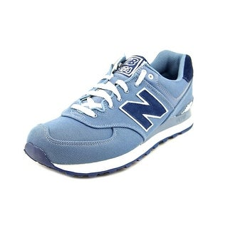 New Balance ML574   Round Toe Canvas  Sneakers