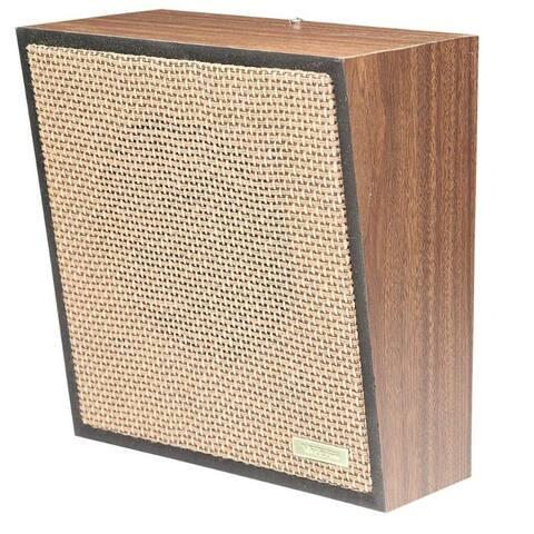 1Watt 1Way Wall Speaker - Brown