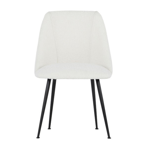 """SAFAVIEH Couture Foster Dining Chair - 21"""" W x 24"""" L x 32.5"""" H. Opens flyout."""