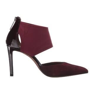 c7c71a9b496 Donald J Pliner Womens Karis Leather Pointed Toe Classic Pumps