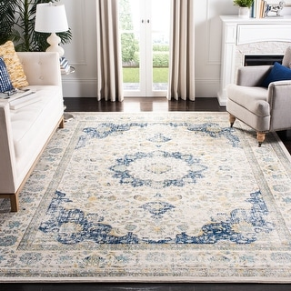 Link to Safavieh Evoke Annabel Vintage Shabby Chic Oriental Rug Similar Items in Transitional Rugs