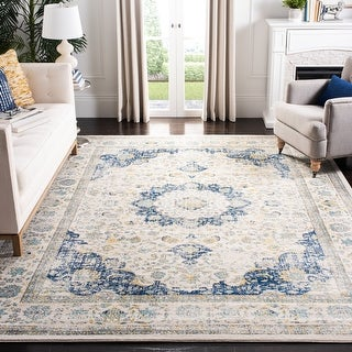 Link to Safavieh Evoke Annabel Vintage Shabby Chic Oriental Rug Similar Items in Rugs