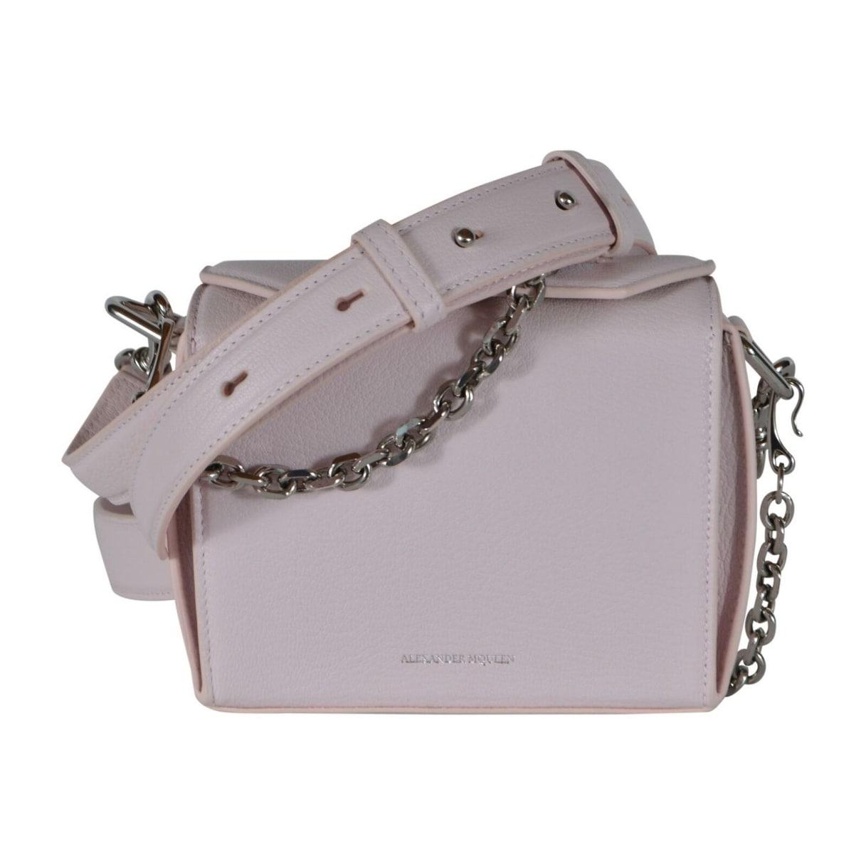 Alexander Mcqueen 479767 Pink Leather