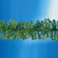 "9' x 12"" Virginia Pine Artificial Christmas Garland - Unlit - green"