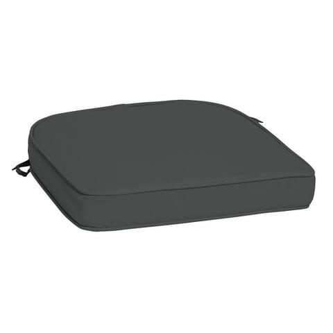 Arden Selections ProFoam Acrylic Rounded Back Dining Cushion