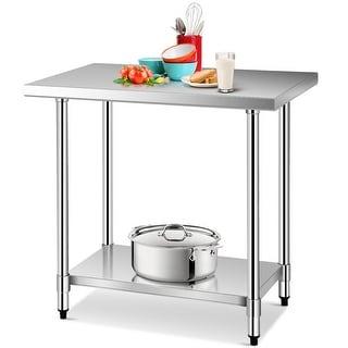 Shop Sportsman Series Stainless Steel Work Table 24 X 36
