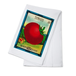 Tomato - Vintage Seed Packet (100% Cotton Towel Absorbent)